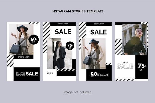 Kolekcja opowiadań na instagramie sprzedaży mody
