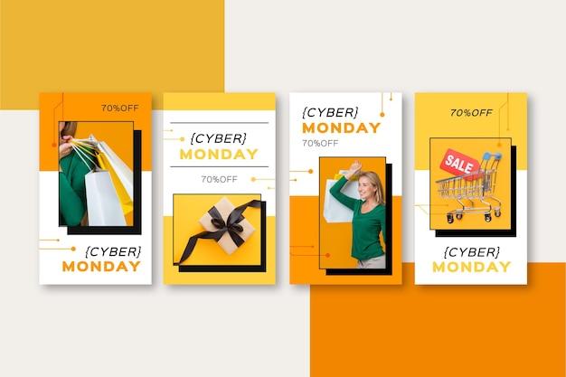Kolekcja opowiadań na instagramie z cyber poniedziałek