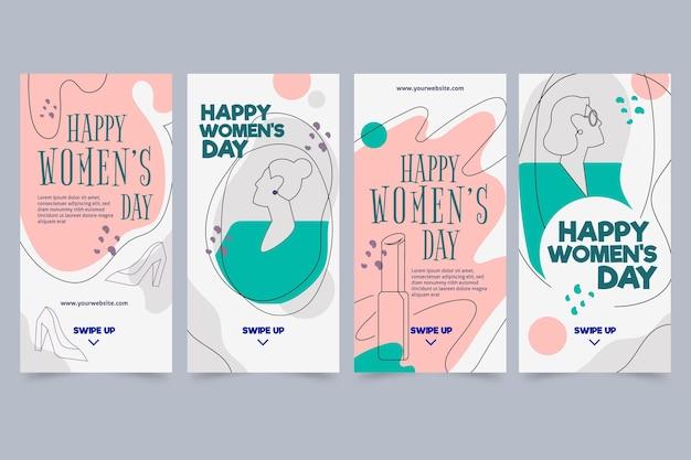 Kolekcja opowiadań na instagramie z okazji międzynarodowego dnia kobiet