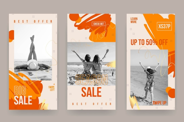 Kolekcja opowiadań o sprzedaży na instagramie