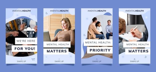 Kolekcja opowiadań o zdrowiu psychicznym ze zdjęciem