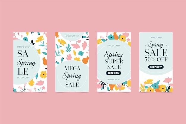 Kolekcja opowiadań z wiosennej sprzedaży na instagramie