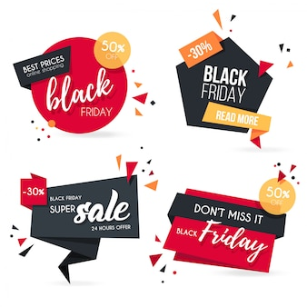 Kolekcja origami black friday