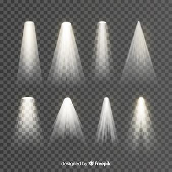 Kolekcja oświetlenia scenicznego