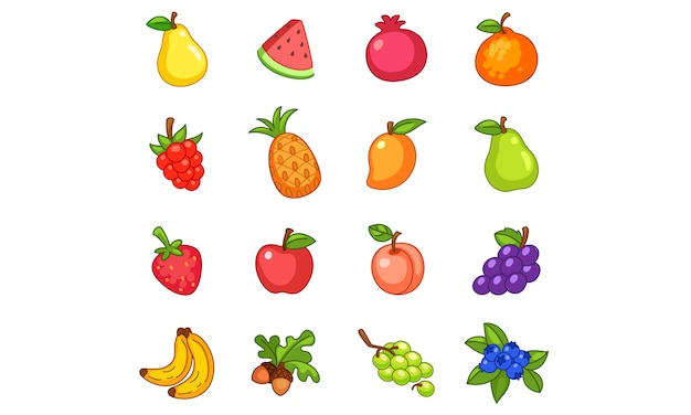Kolekcja owoców