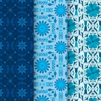 Kolekcja ozdobnych arabskich wzorów