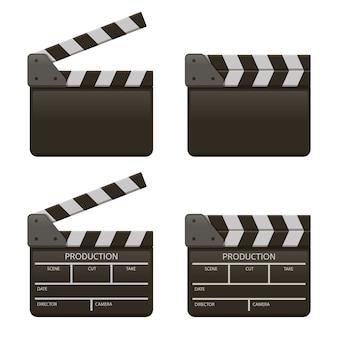 Kolekcja planszy filmowej