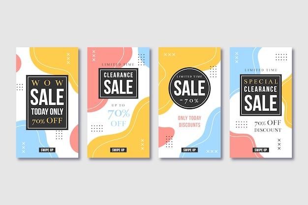 Kolekcja płaskich opowiadań o sprzedaży ig