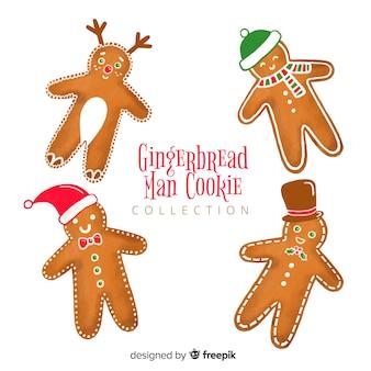 Kolekcja plików cookie piernika