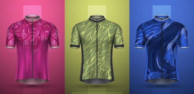 Kolekcja premium koszulki rowerowej
