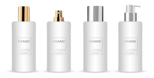 Kolekcja produktów kosmetycznych