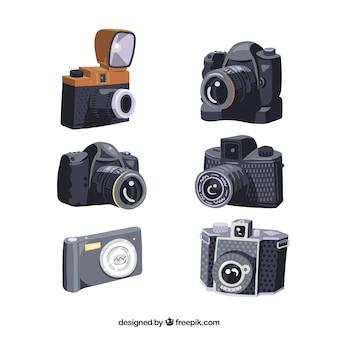 Kolekcja projektów aparatów fotograficznych