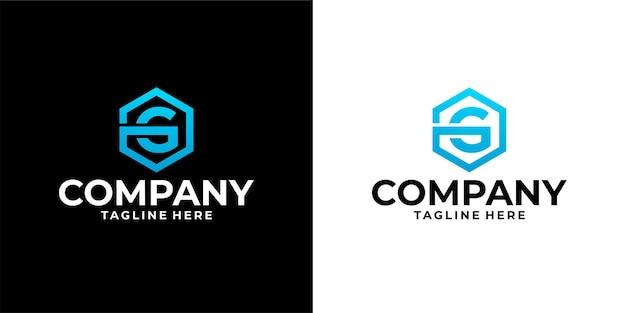 Kolekcja projektów logo list premium wektor