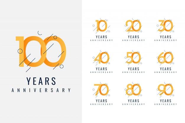 Kolekcja projektowa anniversary