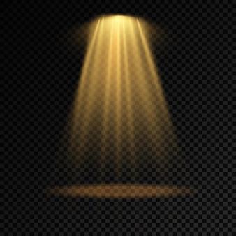 Kolekcja reflektorów oświetlenia scenicznego oświetlenie sceniczne dużej kolekcji efekt świetlny projektora