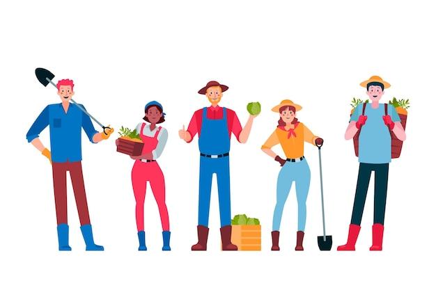 Kolekcja rolników