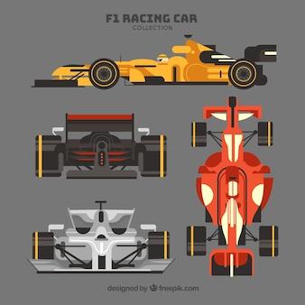 Kolekcja samochodów wyścigowych f1