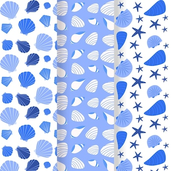 Kolekcja seashell patern