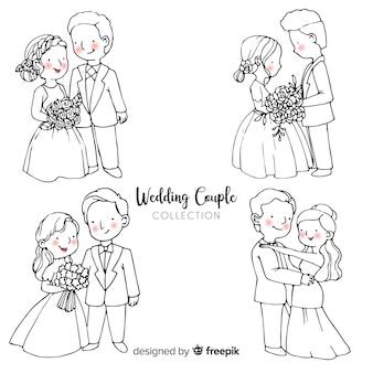 Kolekcja ślubna para