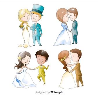 Kolekcja ślubna watecolor