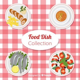 Kolekcja smacznych potraw