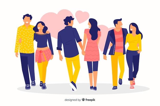 Kolekcja spacerowa dla mężczyzn i kobiet