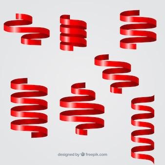 Kolekcja spiralne taśmy