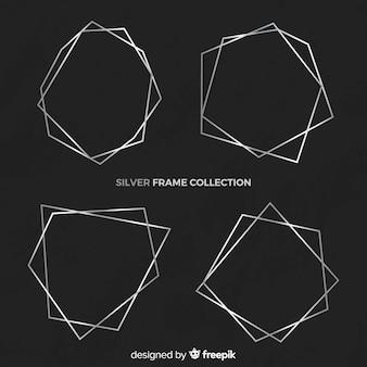 Kolekcja srebrnych ramek