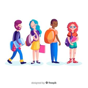 Kolekcja studentów uniwersyteckich
