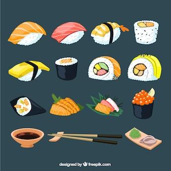 Kolekcja sushi