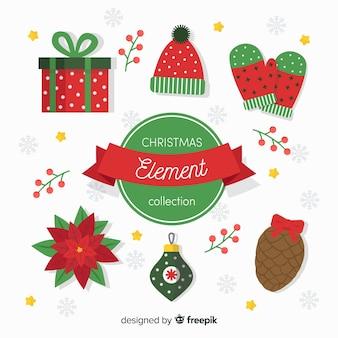 Kolekcja świąteczna płaskie elementy