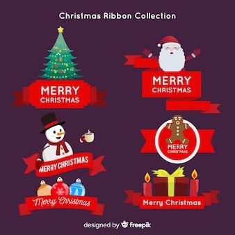 Kolekcja świąteczna wstążka