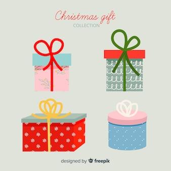Kolekcja świątecznych prezentów