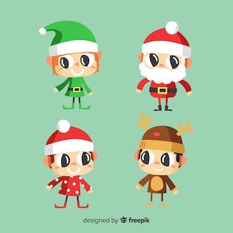 Kolekcja świątecznych znaków