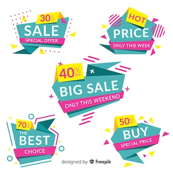Kolekcja szablon transparent streszczenie sprzedaży