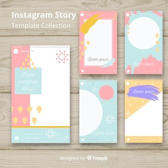 Kolekcja szablonów historii na Instagramie