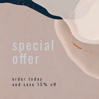 Kolekcja szablonów ofert specjalnych