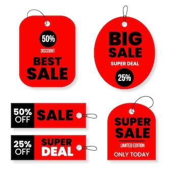 Kolekcja tagów sprzedaży