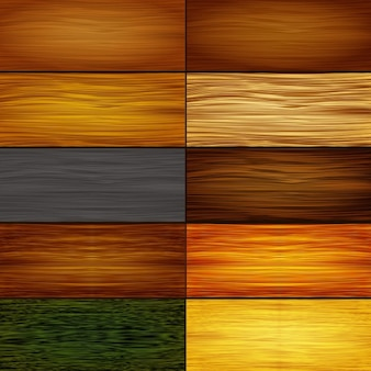 Kolekcja tekstur drewna