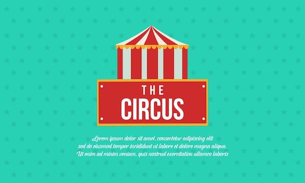 Kolekcja tematyczna cyrku i parku rozrywki