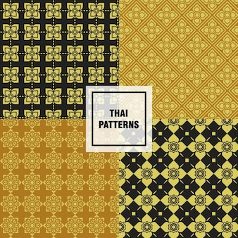 Kolekcja thai wzory