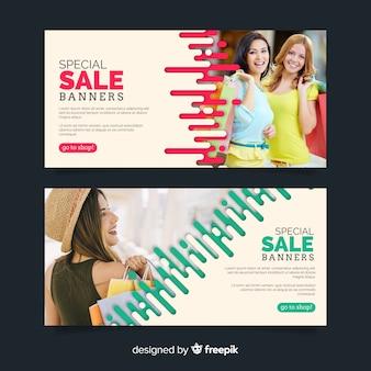 Kolekcja transparent sprzedaż mody