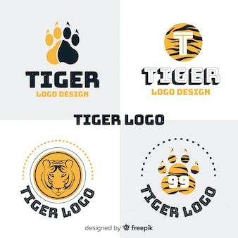 Kolekcja tygrys logo