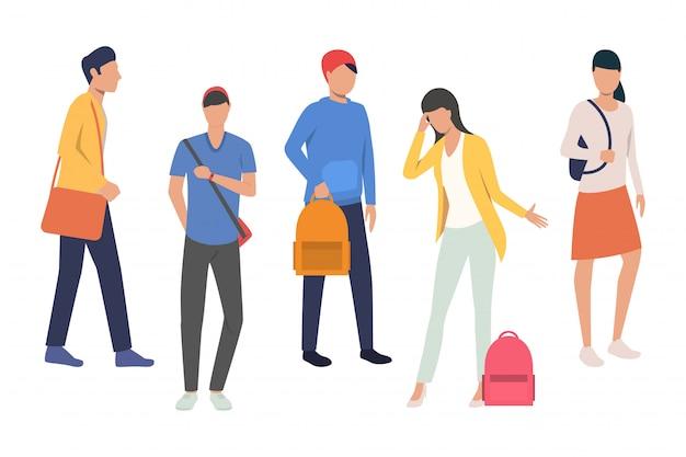 Kolekcja uczniów szkół średnich