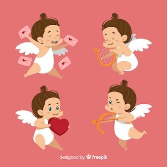 Kolekcja valentine amorek brunetki