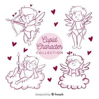 Kolekcja valentine kreskówka amorek