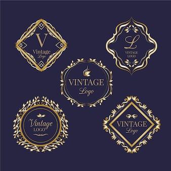 Kolekcja vintage logo