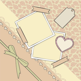 Kolekcja vintage notatnik