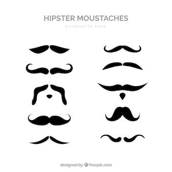 Kolekcja wąsy