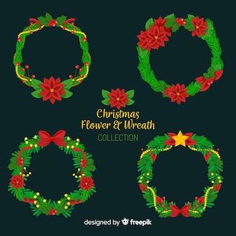 Kolekcja wieniec Boże Narodzenie